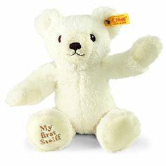 Steiff 013102 – Teddy Bear 25 My First, Cream