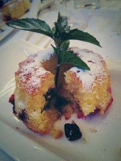 Blueberry vanilla Guggelhupf