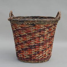 Harvesting the Skagit - willow basket by Katherine Lewis