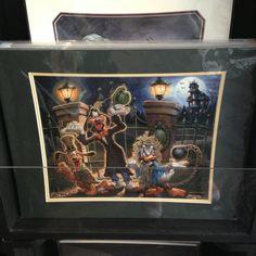 Haunted Mansion print Disney World Merchandise, Disney Ornaments, Haunted Mansion, Epcot, Mickey Mouse, Disney Stuff, Painting, Flats, Shopping