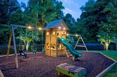 17 Fascinating Garden Playgrounds To Surprise Your Children