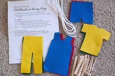 I like this idea but he may be a bit small to get the pegging right. Could also work as a felt board activity.