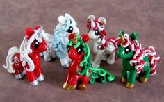 Scarf Ponies by *DragonsAndBeasties on deviantART