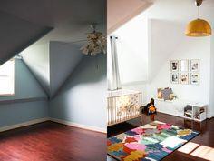 Habitación infantil con color