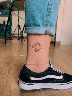 Smal Tattoo, Hawaiianisches Tattoo, Bff Tattoos, Dope Tattoos, Friend Tattoos, Pretty Tattoos, Mini Tattoos, Finger Tattoos, Body Art Tattoos