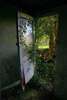 Door to the Past, Fahan, Ireland photo via ketty - Blue Pueblo
