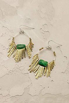 Jade Burst Earrings - anthropologie.com