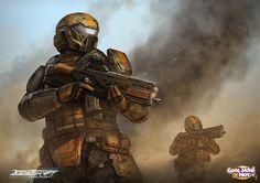 Xenoshyft Ranger by BrotherOstavia.deviantart.com on @deviantART