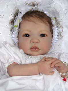 "Reborn Baby Doll Gorgeous ""Kahlan"" Shyann by Aleina Peterson 