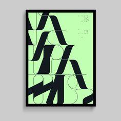 Superfried poster design