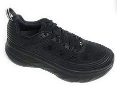 HOKA ONE ONE Womens Bondi 6 Black Black Running Shoe - 8.5  ebe6b07f19
