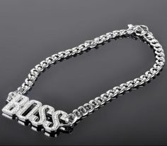 Fashion Boss Pendant Chunky Chain Name Necklace