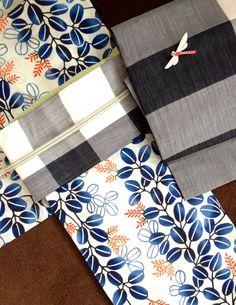 Yukata (Hagi pattern ) + Nagoya Obi with Dragonfly