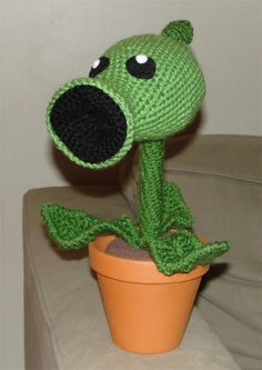 Plants vs. Zombies crochet!