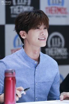 Beautiful smile from Park Hyung Sik