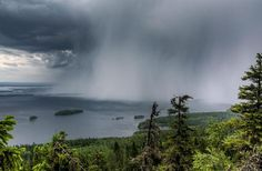 ***Rain over Pielinen Lake (Finland) by Marko Kontkanen 🇫🇮 Nature Images, Nature Pictures, Beautiful Places, Beautiful Pictures, Wild Weather, Amazing Nature, Wonders Of The World, Mother Nature, Cool Photos