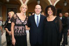 2007: Fürst Albert II. und Charlene Wittstock beim Monte Carlo Television Festival