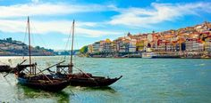 Los diez lugares más bonitos de Portugal. (Barcos en Oporto) #Portugal #Lisboa #Oporto #Viajes