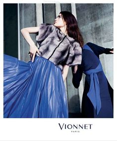 Vionnet Fall Winter 2014 Ad Campaign | Art8amby's Blog