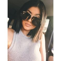Let your hair down! Kylie Jenner is giving us a look at her natural locks...