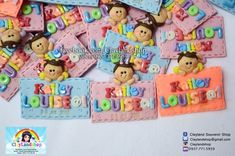 Christening Bapstimal Baby Souvenir - Clayland Souvenir Shop Polymer Clay Princess, Property Rights, Air Dry Clay, Christening, Bullet Journal, Concept, Colors, Baby, Cold