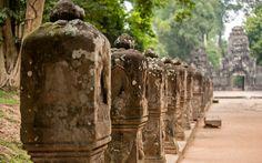"Kambodscha: ""Temple Running"" in Angkor Wat Angkor Wat Cambodia, Khmer Empire, World, Bucket, Culture, Running, Cambodia, Temple, Photo Illustration"