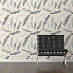 """Found it at Wayfair - Goose Feathers Removable 10' x 20"""" Wallpaper"""