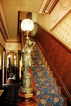 Victorian staircase 2 by Period Style 2012, via Flickr