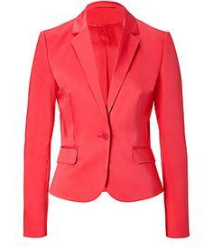coral suit