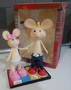 Muñecos Goma Eva. EXPIRUCHAS: Preciosos
