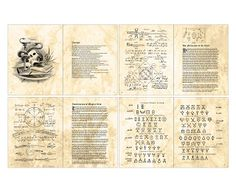 Quirky Artist Loft: Free Printable Doll Spell Book