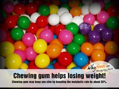 You pop in that much-anticipated stick of gum only to find that not three minutes later the gum has lost its flavor. A flavorless stick of gum is hardly worth chewing any longer, so you may decide to pop in a second piece, or spit it out altogether. Chewing Gum, Help Losing Weight, How To Lose Weight Fast, Lose Fat, Reduce Weight, What Are Processed Foods, Gum Flavors, Fun Bridal Shower Games, Gumball Machine