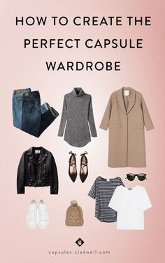 Ever feel like you have nothing to wear? Capsules walks you through a step-by-step process to create a mini, versatile capsule wardrobe.