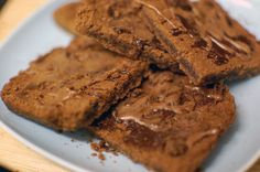 Chocolate Shortbread (gluten and dairy free)