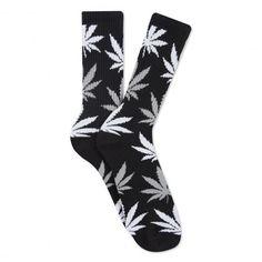 HUF chaussettes Plantlife crew black cannabis 16,00 € #skate #skateboard #skateboarding #streetshop #skateshop @playskateshop