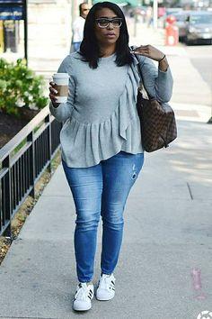 Plus Size Outfit Ideas For Women / #plus #size #outfits / FASHIONTERA