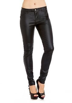 2b | Leatherette Coated Skinny - View All