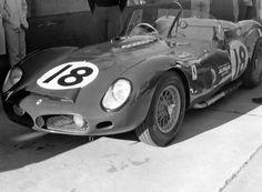 1963 12 Hours of Sebring   North American Racing Team Ferrari 330 TRI/LM of Pedro Rodriguez and Graham Hill.