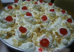 Εκμέκ τέλειο omg, translate please! This is the best dessert… Greek Sweets, Greek Desserts, Summer Desserts, Greek Recipes, Fun Desserts, Cookbook Recipes, Sweets Recipes, Cooking Recipes, Food Network Recipes