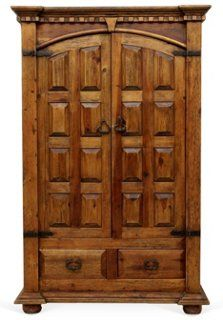 Spanish Colonial-Style  Armoire