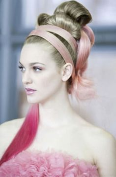 She Usa By So.Cap Hair Extensions, Pink Hair For Hope