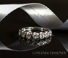 Fabulous diamond eternity ring