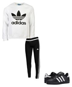 """Untitled #255"" by austynh on Polyvore featuring adidas Originals and adidas"