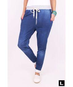 Dámske tepláky modré Sweatpants, Outfit, Fashion, Moda, La Mode, Sweat Pants, Fasion, Jumpsuits, Clothing