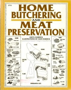 HOME BUTCHERING MEAT PRESERVATION explains in step-by-step detail all the ins and outs, the pleasures and the pitfalls, of selecting, raising, caring for, breeding, slaughtering, butchering, preserving, and cooking poultry, rabbit, goats, sheep, venison, pigs, veal, and beef. Everything you need to know to carry on the age-old tradition of raising and butchering animals for personal consumption or even as a side-line business is clearly illustrated with line drawings and photographs.