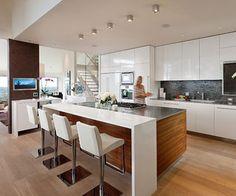 Charmant Contemporary Kitchen By Studio 3 Kitchens   Kitchen   Pinterest    Contemporary, Studio And Kitchens