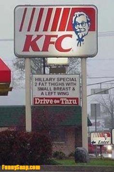KFC: HILLARY SPECIAL