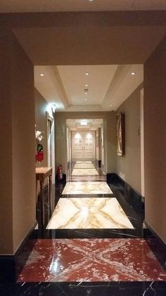 historic hallway shines again Sparkling Drinks, Cleaning Agent, Stone Flooring, Stairs, Home Decor, Stairway, Decoration Home, Room Decor, Staircases