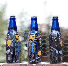 tiger translate / tiger beer - limited edition metropolis bottle