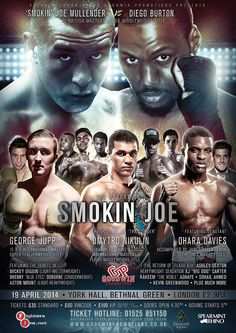 The Return of Smokin' Joe - design by KnockoutPosters.com